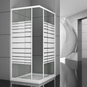 Box doccia angolare Linebox 70x70