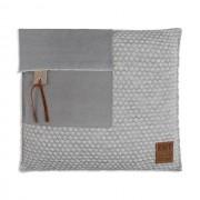 Knit Factory Jack kussen 50x50 lichtgrijs / beige
