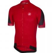 Castelli Volata 2 Jersey - M - Red/Black