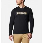 Columbia T-shirt graphique manches longues Lookout Point - Homme Noir Camo XL