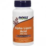 Алфа-Липоева киселина 250мг. - Alpha Lipoic Acid - 60 капсули - NOW FOODS, NF3042