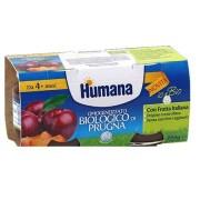 Humana Italia Spa Humana Omog Prugna Bio 2x100g