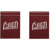 Parksons Cairo Casino - Pure Plastic Poker Playing Cards for Poker games / party - Pack of 2