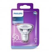Bec spot LED Philips 4.6W (50W), GU10, lumina rece 6500K, fara intensitate variabila