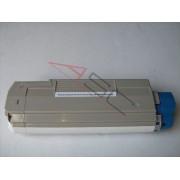Oki Cartucho de tóner para OKI 43872306 magenta compatible (marca ASC)