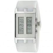 EOS New York Binary NU Watch White/Silver 120SWHTSIL