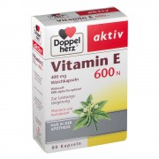 Doppelherz® aktiv Vitamin E 600 N 80 St Weichkapseln