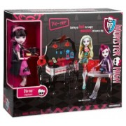 Draculaura la cina - Set din 13 dorinte Monster High Y7719