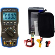 HOLDPEAK 760G Digitális multiméter VDC VAC ADC AAC frekvencia kapacitás hőmérséklet hFE dióda szakadás.