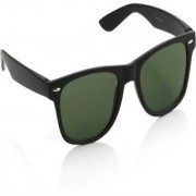 Adrian Rectangular Sunglasses(Green)