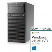 HP Proliant ML110 G7 tower Xeon Quad Core E3-1220- 16Gb Ram- 2x1Tb Sata- raid B110i Windows Server 2019 Standard