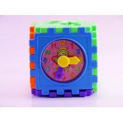 Cub interactiv cu activitati 5 in 1, multicolor, 18 luni+, coordonare mana- ochi