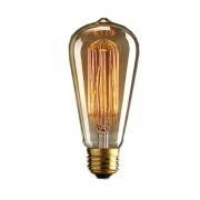 dominidesign © gloeilamp Retro Glass Filament 135mm transparant