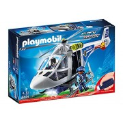 PLAYMOBIL 6874 Police Helicopter with LED Searchlight