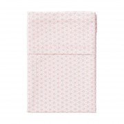 Cottonbaby Triangel Ledikantlaken Roze 120 x 150 cm