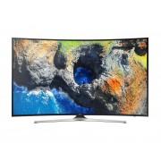 Televizor LED Curbat Samsung 65MU6222, 163 cm, Smart TV, 4K UHD, Wi-Fi, Negru