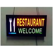 LED navigačná tabuľa pre reštaurácie - RESTAURANT