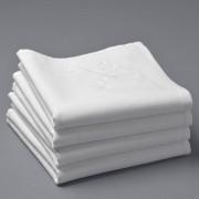 La Redoute 4 салфетки из комбинированной ткани с вышивкой