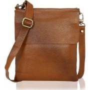 HugMe.fashion Men & Women Formal Brown Genuine Leather Messenger Bag