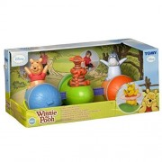 Funskool Tomy Winnie the Pooh Spin 'N' Play Acorn Train Pull Toy