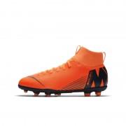 Nike Jr. Mercurial Superfly VI Club Fußballschuh für verschiedene Böden für jüngere/ältere Kinder - Orange