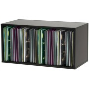 Glorious Record Storage Box 230 Black