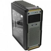 Кутия Antec ATX Gaming GX909 Window, ATX, 2x USB 3.0, черна/зелена, без захранване