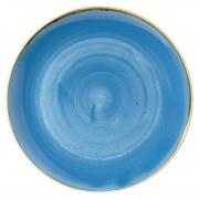 Churchill Super Vitrified Churchill Stonecast Round Coupe Bowls Cornflower Blue 311mm
