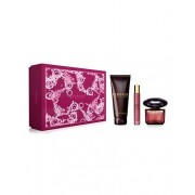 Versace Crystal Noir Coffret Eau De Toilette 90ml+ Eau De Toilette Miniature 10ml+ Shower Gel 150ml (8011003841912)