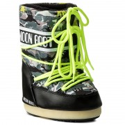 Hótaposó MOON BOOT - Jr T-Rex 34000900002 Black/Green