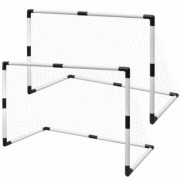 vidaXL Set de but de football poteau et filet 91,5 x 48 x 61 cm