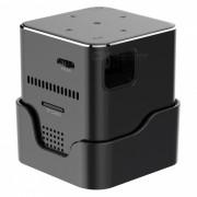 ORIMAG P6 Mini Proyector Portatil DLP LED FHD - Negro (US Plugs)