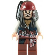 Lego Pirates Of The Caribbean: Captain Jack Sparrow Minifigure