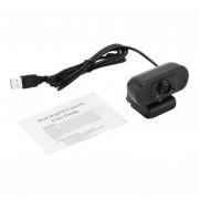Cámara práctica HD Webcam Cámara USB para grabación de vídeo Cámaras w