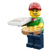 LEGO Minifigur serie 12 Pizzabud