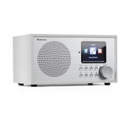 Auna Silver Star Mini, интернет DAB+/FM радио, WiFi, BT, бял (KC6-SilverStar Mi WH)