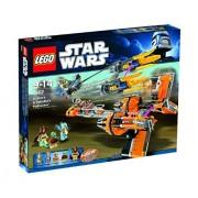 Lego Star Wars Anakin's and Sebulba's Pod Racer