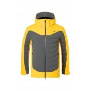 KJUS Sight Line Jacket steel grey/solar 56