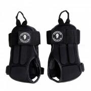 WOSAWE BC330 Munequeras de proteccion para las manos de esqui - Negro (L)