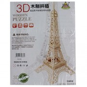 Wooden 3D Puzzle Board Games - Eiffel Tower (1c626) - Jigsaw Toys, Puzzles & Logical Games