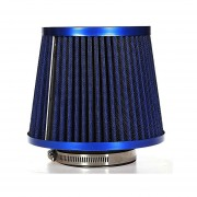 Filtro De Aire Para Automóvil Universal Inducción De Vehículo Alta Potencia Mesh Cone Blue