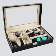 Cutie ceasuri, bijuterii si ochelari, cheita inclusa
