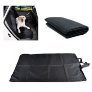 AST Works Luxury Travel Pet Car SUV Van Back Rear Bench Seat Cover Waterproof for Dog Cat