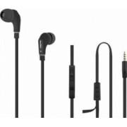 Casti Audio cu Microfon Qoltec Negru 50806
