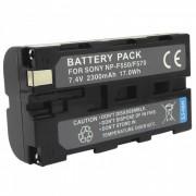 bateria de repuesto NP-F570 / 550 7.4V 2300mah para sony TRV1 / 200 / VX2100E / 320E / HVR-Z1C + mas