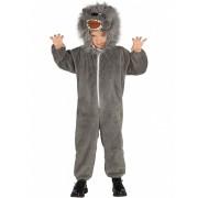 Disfarce lobo cinzento criança - 5 a 6 anos (110-115 cm)
