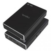 Logilink Box Esterno 2x HDD/SSD 2.5'' da SATA a USB 3.0