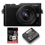 Panasonic Lumix DMC-GX800 + 12-32 + Extrabatteri + 32GB SDHC