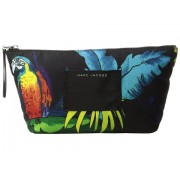 Marc Jacobs BYOT Parrot Trapezoid Cosmetics Case Black Multi