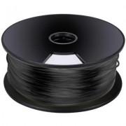 Műanyag szál 3D nyomtatóhoz fekete 3 mm 1 kg Velleman PLA3B1 (555881)